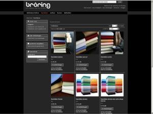Bröring Slaapcomfort Webshop