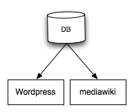 Connection between WordPress and MediaWiki - Bliki
